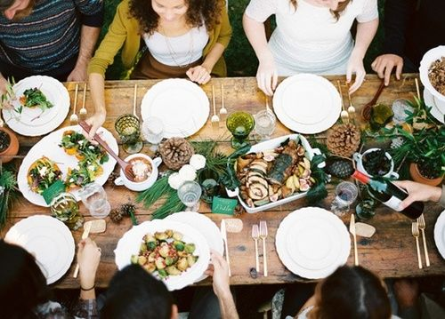 Intimate dinners for friends where you get to stay seated and take all the credit